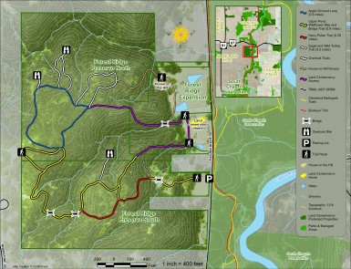 Forest Ridge Trail Map
