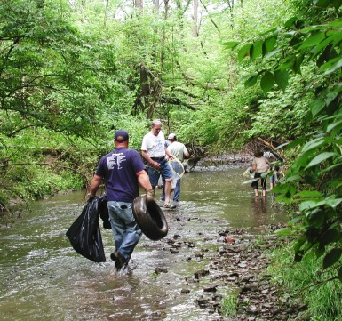 Stream Cleanups and More