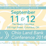Ohio Land Bank Conference Sessions 2014