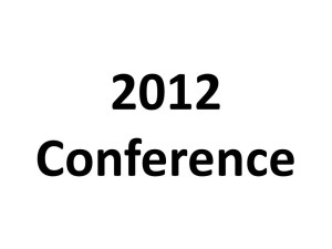 2012Conference
