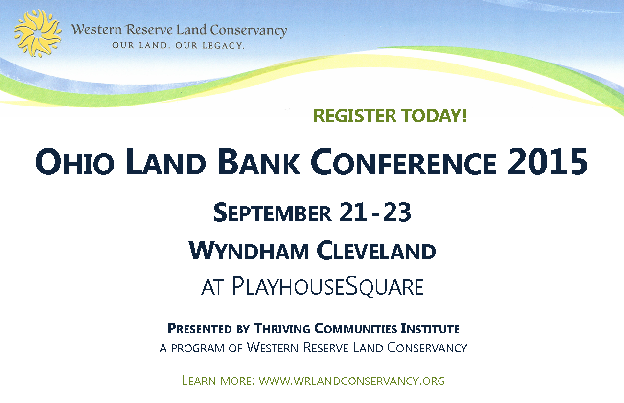 Ohio Land Bank Conference Registration
