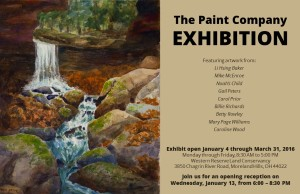 Paint Company Exhibition