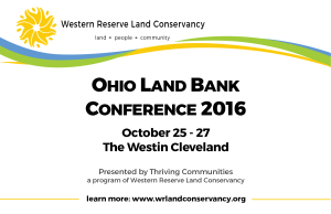 Ohio Land Bank Conference Save the Date