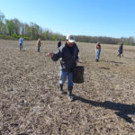 Oberlin College students and local residents restore prairie on Earth Day weekend