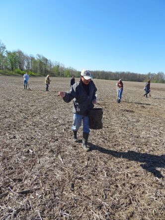 Oberlin Prairie Planting - Credit Western Reserve Land Conservancy