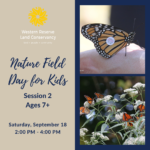Nature Field Day for Kids: Monarch Tagging - Session 2 (Ages 7+)