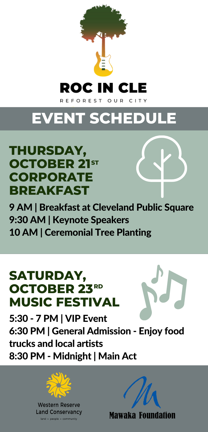 ROC in CLE Event Schedule (2)