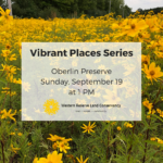 Ohio Real Title Vibrant Places Series Hike: Oberlin Preserve
